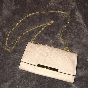 "Light pink ""snake skin"" ALDO purse"